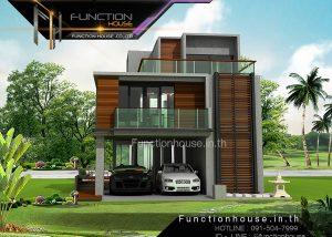 ออกแบบบ้านสามชั้น