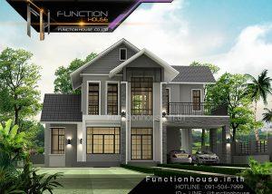 ออกแบบบ้านคอนเทมโพรารี่